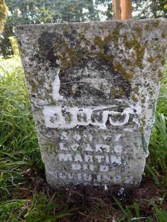 MARTIN, JOHN W - Jefferson County, Illinois | JOHN W MARTIN - Illinois Gravestone Photos