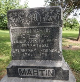 MARTIN, JOHN - Jefferson County, Illinois | JOHN MARTIN - Illinois Gravestone Photos