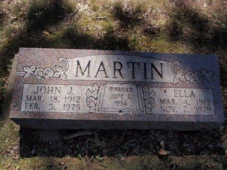 MARTIN, ELLA - Jefferson County, Illinois | ELLA MARTIN - Illinois Gravestone Photos