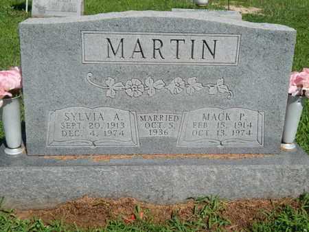 MARTIN, MACK P - Jefferson County, Illinois | MACK P MARTIN - Illinois Gravestone Photos