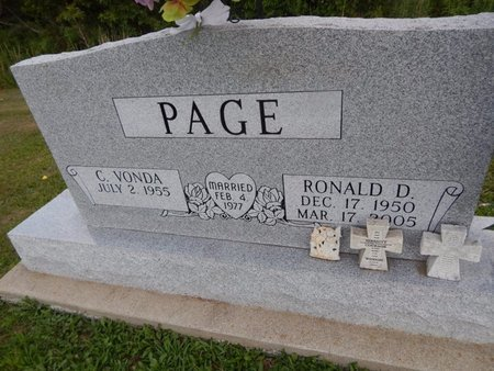 PAGE, RONALD D - Jefferson County, Illinois | RONALD D PAGE - Illinois Gravestone Photos
