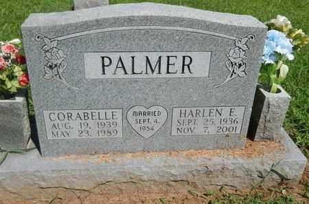PALMER, HARLEN E - Jefferson County, Illinois | HARLEN E PALMER - Illinois Gravestone Photos