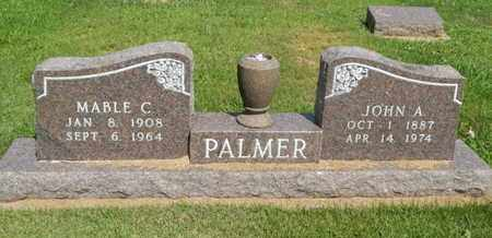 PALMER, MABLE C - Jefferson County, Illinois | MABLE C PALMER - Illinois Gravestone Photos