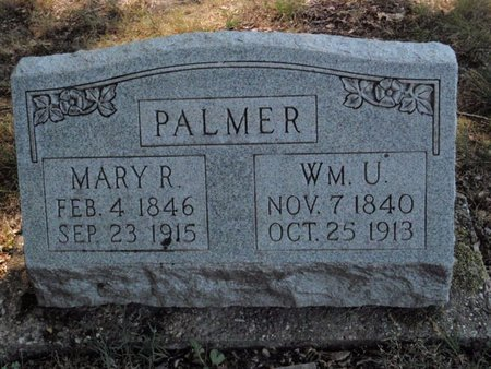 PALMER, MARY R - Jefferson County, Illinois | MARY R PALMER - Illinois Gravestone Photos