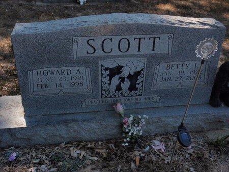 SCOTT, HOWARD A - Jefferson County, Illinois | HOWARD A SCOTT - Illinois Gravestone Photos