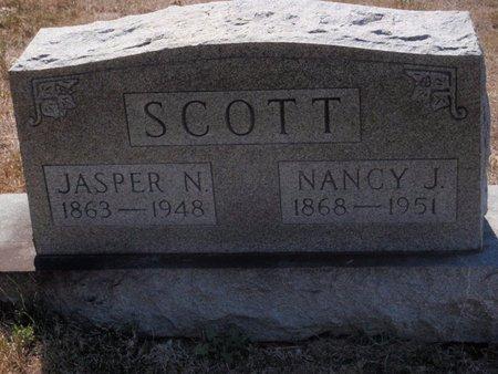 SCOTT, NANCY J - Jefferson County, Illinois | NANCY J SCOTT - Illinois Gravestone Photos