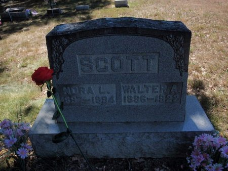 SCOTT, NORA L - Jefferson County, Illinois | NORA L SCOTT - Illinois Gravestone Photos