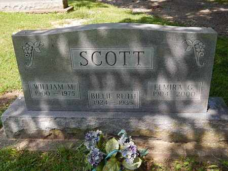 SCOTT, ELMIRA G - Jefferson County, Illinois | ELMIRA G SCOTT - Illinois Gravestone Photos