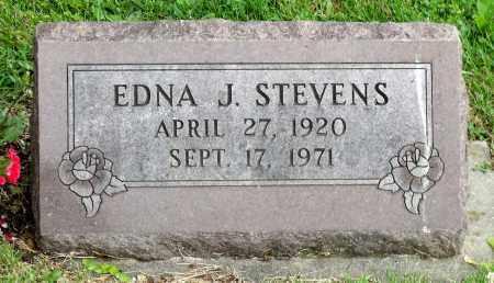 STEVENS, EDNA J. - Kane County, Illinois   EDNA J. STEVENS - Illinois Gravestone Photos