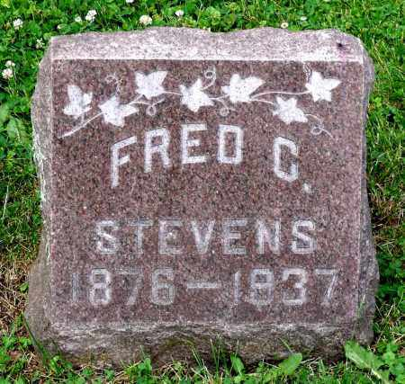STEVENS, FRED C. - Kane County, Illinois | FRED C. STEVENS - Illinois Gravestone Photos