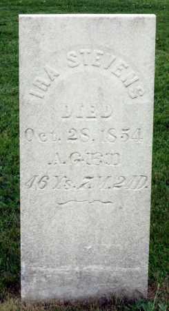 STEVENS, IRA - Kane County, Illinois | IRA STEVENS - Illinois Gravestone Photos