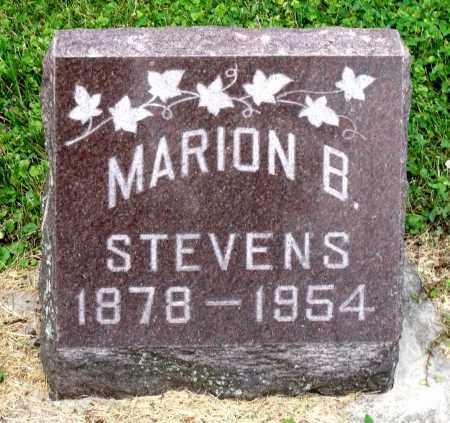 STEVENS, MARION B. - Kane County, Illinois | MARION B. STEVENS - Illinois Gravestone Photos