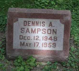 SAMPSON, DENNIS - Kendall County, Illinois | DENNIS SAMPSON - Illinois Gravestone Photos