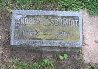 SCHMIDT, ANDREW - Kendall County, Illinois   ANDREW SCHMIDT - Illinois Gravestone Photos