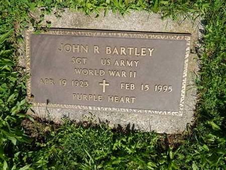 BARTLEY (VETERAN WWII), JOHN R (NEW) - Livingston County, Illinois | JOHN R (NEW) BARTLEY (VETERAN WWII) - Illinois Gravestone Photos