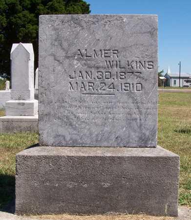 WILKINS, ALMER - Marion County, Illinois   ALMER WILKINS - Illinois Gravestone Photos