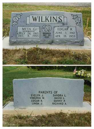 WILKINS, EDGAR - Marion County, Illinois | EDGAR WILKINS - Illinois Gravestone Photos