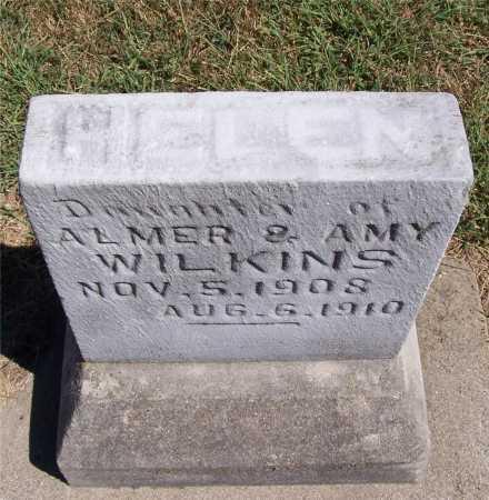 WILKINS, HELEN - Marion County, Illinois | HELEN WILKINS - Illinois Gravestone Photos