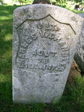 CHANDER, CHARLES V. - McDonough County, Illinois | CHARLES V. CHANDER - Illinois Gravestone Photos