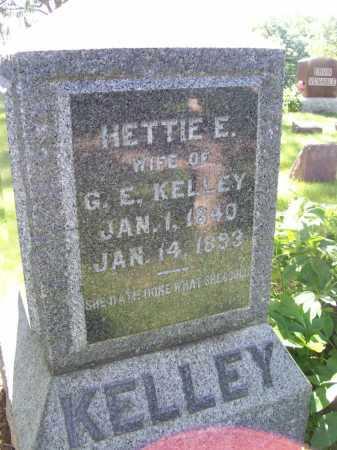 KELLY, HETTIE E. - McDonough County, Illinois | HETTIE E. KELLY - Illinois Gravestone Photos