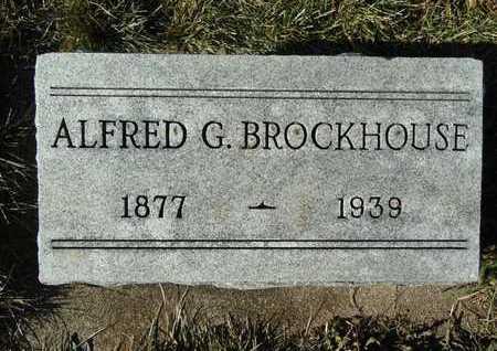 BROCKHOUSE, ALFRED G. - Morgan County, Illinois | ALFRED G. BROCKHOUSE - Illinois Gravestone Photos