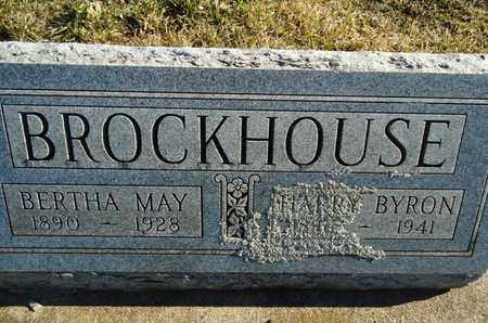 BROCKHOUSE, HARRY BYRON - Morgan County, Illinois   HARRY BYRON BROCKHOUSE - Illinois Gravestone Photos