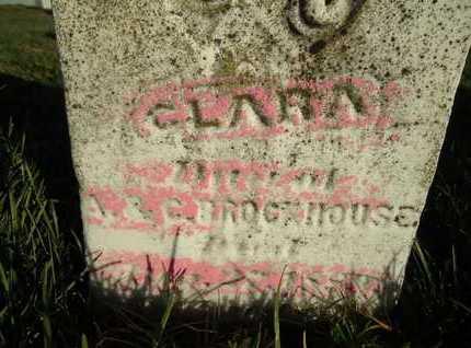 BROCKHOUSE, CLARA - Morgan County, Illinois   CLARA BROCKHOUSE - Illinois Gravestone Photos