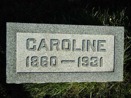 BROCKHOUSE, CAROLINE - Morgan County, Illinois | CAROLINE BROCKHOUSE - Illinois Gravestone Photos