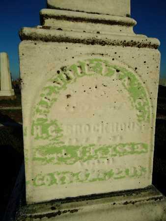 BROCKHOUSE, HENRIETTA C. - Morgan County, Illinois | HENRIETTA C. BROCKHOUSE - Illinois Gravestone Photos