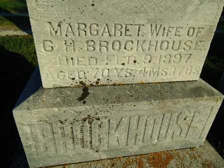 BROCKHOUSE, MARGARET - Morgan County, Illinois | MARGARET BROCKHOUSE - Illinois Gravestone Photos