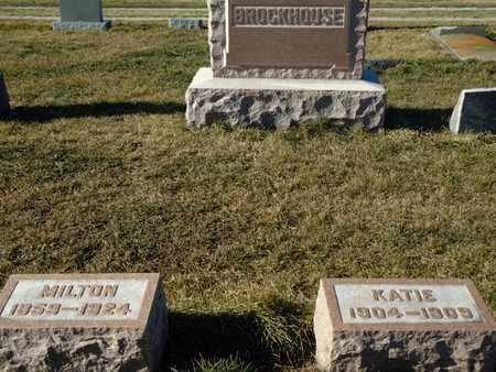 BROCKHOUSE, MILTON - Morgan County, Illinois | MILTON BROCKHOUSE - Illinois Gravestone Photos