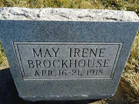BROCKHOUSE, MAY IRENE - Morgan County, Illinois | MAY IRENE BROCKHOUSE - Illinois Gravestone Photos