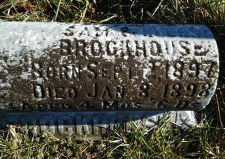 BROCKHOUSE, HAYWARD EDWARD - Morgan County, Illinois | HAYWARD EDWARD BROCKHOUSE - Illinois Gravestone Photos
