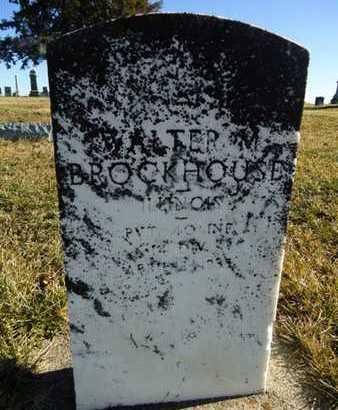 BROCKHOUSE, WALTER M. - Morgan County, Illinois | WALTER M. BROCKHOUSE - Illinois Gravestone Photos