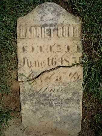 CORE, HARRIET - Morgan County, Illinois | HARRIET CORE - Illinois Gravestone Photos