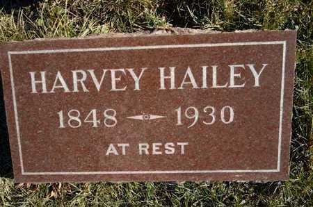 HAILEY, HARVEY - Morgan County, Illinois | HARVEY HAILEY - Illinois Gravestone Photos