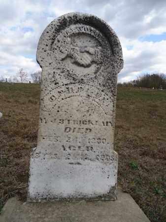 STRICKLIN, OPHELIA - Morgan County, Illinois | OPHELIA STRICKLIN - Illinois Gravestone Photos