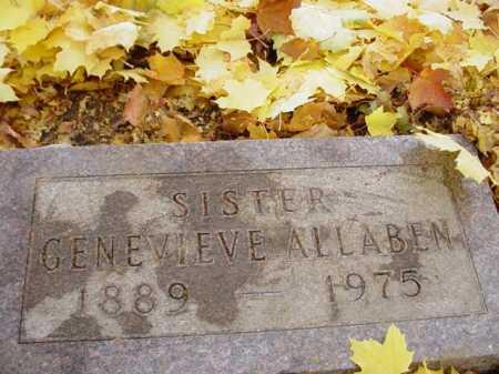 ALLABEN, GENEVIEVE - Ogle County, Illinois | GENEVIEVE ALLABEN - Illinois Gravestone Photos