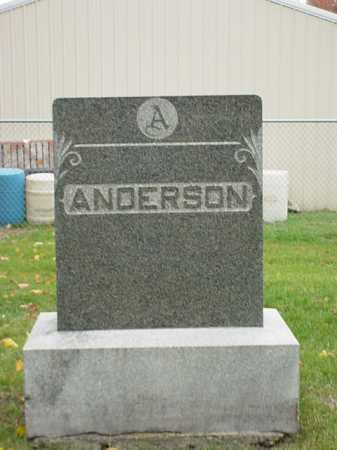 ANDERSON, FAMILY STONE - Ogle County, Illinois | FAMILY STONE ANDERSON - Illinois Gravestone Photos
