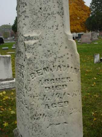 ARCHER, BENJAMIN - Ogle County, Illinois | BENJAMIN ARCHER - Illinois Gravestone Photos