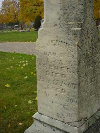 ARCHER, E. JENNIE - Ogle County, Illinois | E. JENNIE ARCHER - Illinois Gravestone Photos
