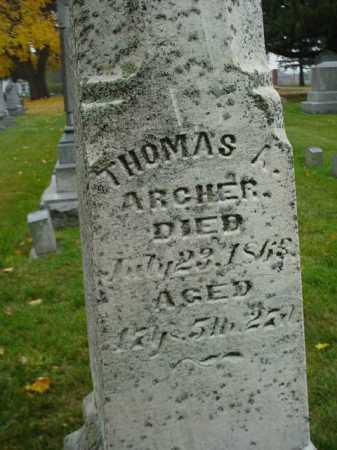 ARCHER, THOMAS A. - Ogle County, Illinois | THOMAS A. ARCHER - Illinois Gravestone Photos