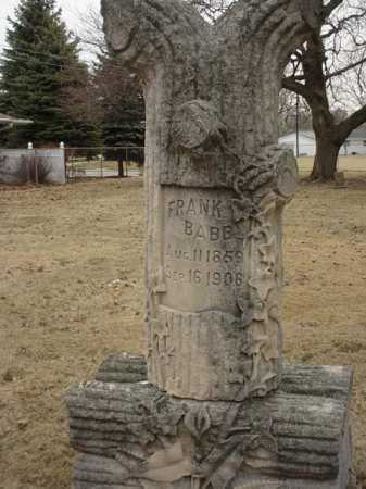 BABB, FRANK - Ogle County, Illinois | FRANK BABB - Illinois Gravestone Photos