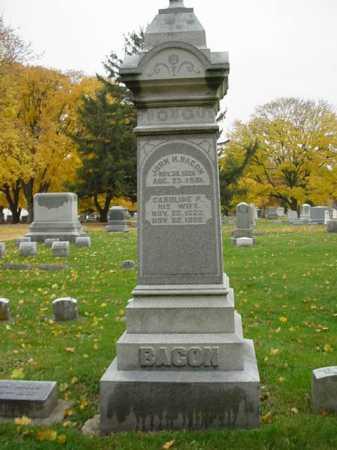 BACON, JOHN - Ogle County, Illinois   JOHN BACON - Illinois Gravestone Photos