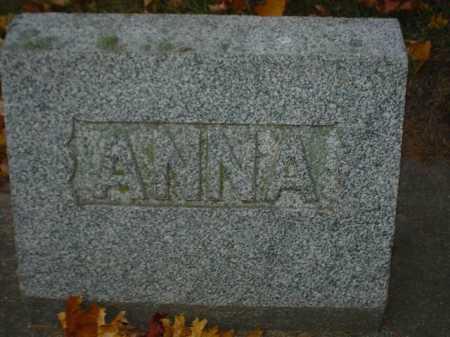 BAIN, ANNA - Ogle County, Illinois | ANNA BAIN - Illinois Gravestone Photos