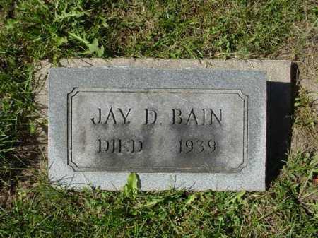 BAIN, JAY D. - Ogle County, Illinois   JAY D. BAIN - Illinois Gravestone Photos