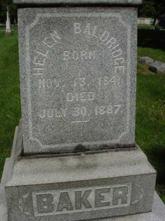 BAKER BALDRIDGE, HELEN - Ogle County, Illinois | HELEN BAKER BALDRIDGE - Illinois Gravestone Photos