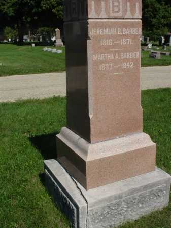 BARBER, JEREMIAH B. - Ogle County, Illinois | JEREMIAH B. BARBER - Illinois Gravestone Photos