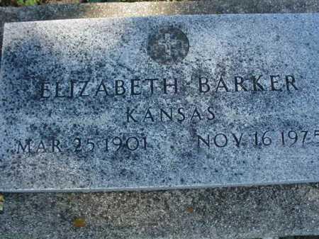 BARKER, ELIZABETH - Ogle County, Illinois   ELIZABETH BARKER - Illinois Gravestone Photos