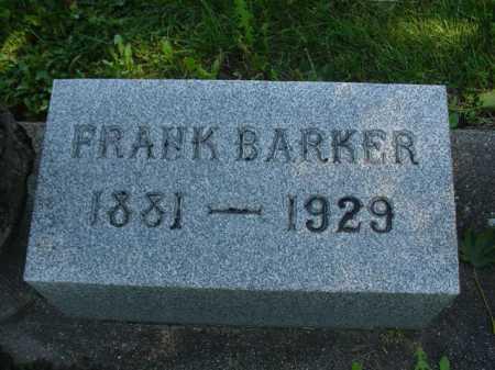 BARKER, FRANK - Ogle County, Illinois | FRANK BARKER - Illinois Gravestone Photos